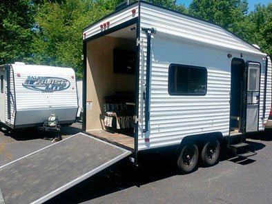 Rental Outfitters Toy Hauler Trailer